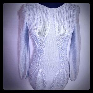 Grey & Silver Sweater